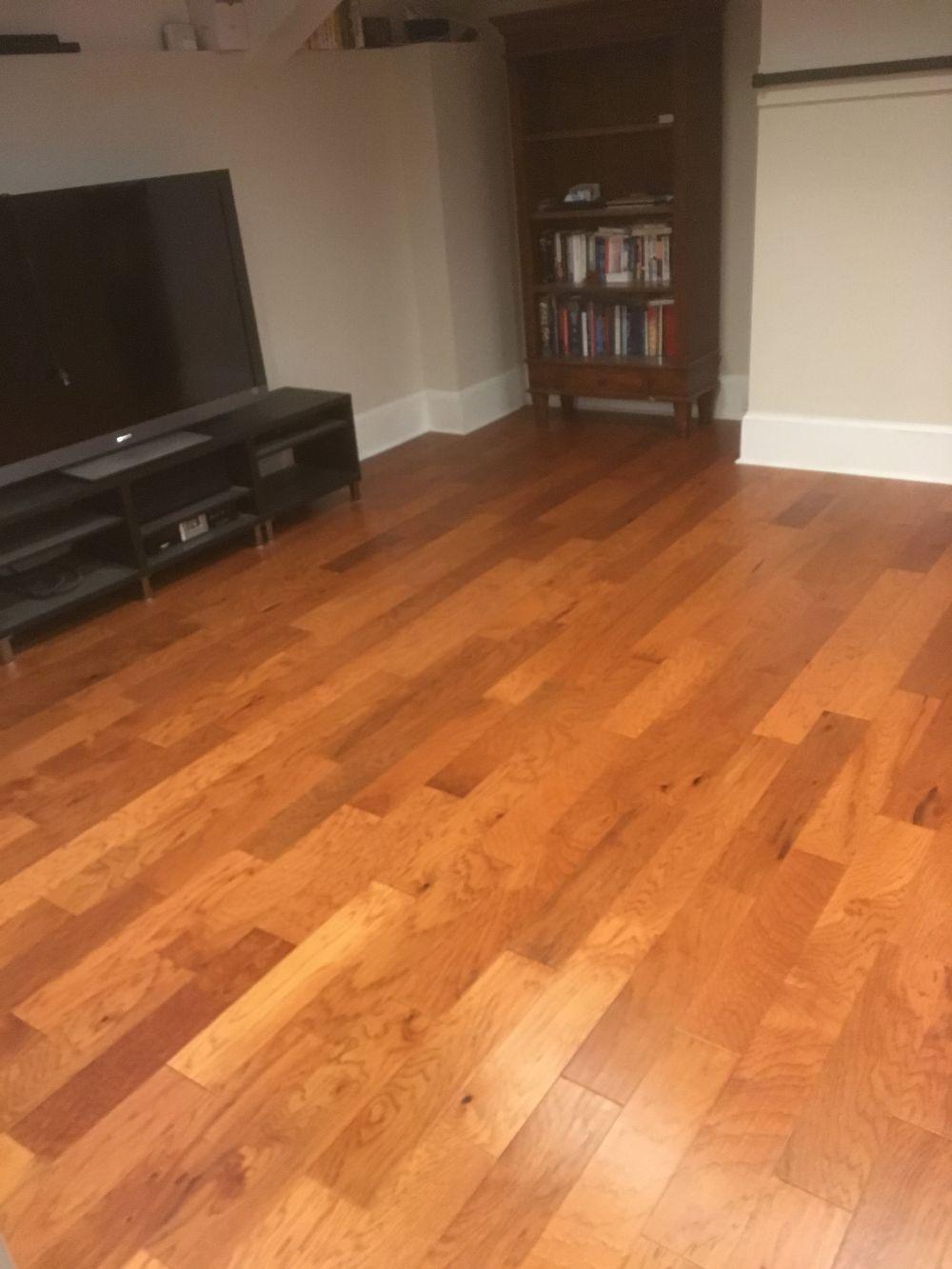 Hardwood Steps Floor Installation In Roswell Ga