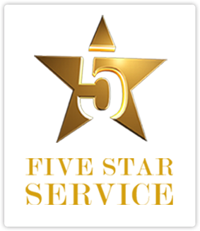 Image result for 5 star service